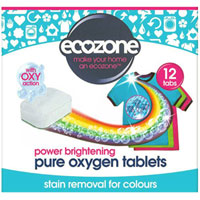 Ecozone - Power Brightening Pure Oxygen Tablets for Colours