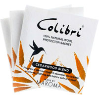Colibri - Cedarwood All Natural Anti-Moth Sachets