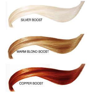 Colour Boost Shampoo - Colour Chart