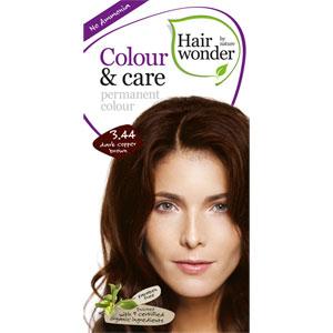 Hairwonder - Colour & Care - Dark Copper Brown 3.44