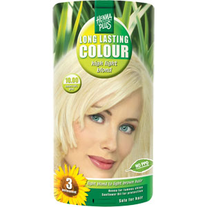 HennaPlus - Long Lasting Colour - High Light Blond 10
