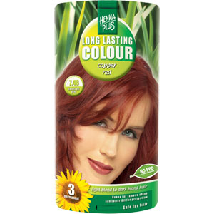 HennaPlus - Long Lasting Colour - Copper Red 7.46