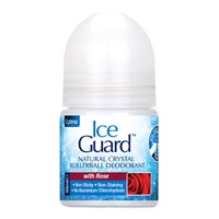 Ice Guard - Natural Crystal Rollerball Deodorant