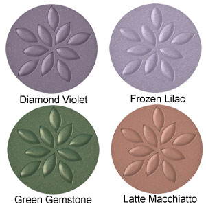 Beautiful Mineral Eye Shadow - Colour Chart