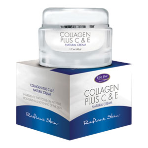 Life-flo - Collagen Plus C & E Natural Cream