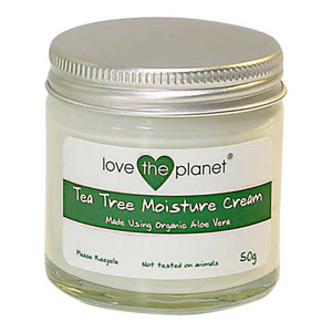 Love The Planet - Tea Tree Moisture Cream