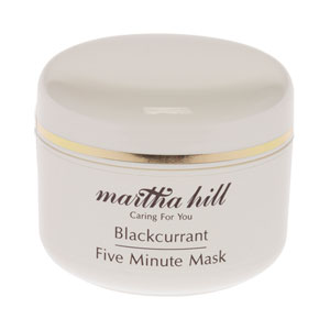 Martha Hill - Blackcurrant 5 Minute Face Mask