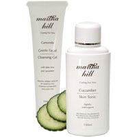 Martha Hill - Camomile & Cucumber Cooling Summer Duo
