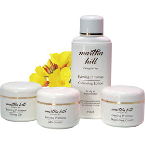 Martha Hill - Evening Primrose Skin Care Set