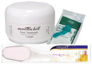 Martha Hill - Foot Treatment Set (Cream, File & Socks)
