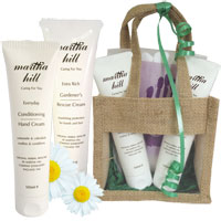 Martha Hill - Hand Care Trio (with Jute Bag)