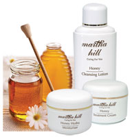 Martha Hill - Honey Skin Care Set