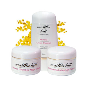 Martha Hill - Mimosa Hydrating Skin Care Trial  Set