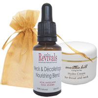 Martha Hill - Essential Care For Throat & Neck (with Organza Bag)