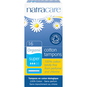 Natracare - Organic All Cotton Tampons (with applicator) - Super