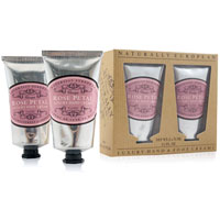 Naturally European - Rose Petal Luxury Hand & Foot Cream Gift Pack