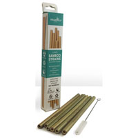 Organically Epic - Bamboo Resuable Drinking Straws