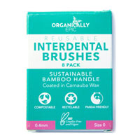 Organically Epic - Reusable Bamboo Interdental Brushes