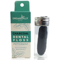 Organically Epic - Charcoal Dental Floss - Peppermint