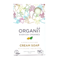 Organii - Cream Soap - Almond & Avocado