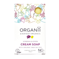 Organii - Cream Soap - Verbena & Lemon