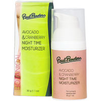 Paul Penders - Avocado & Cranberry Night Time Moisturiser