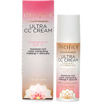 Pacifica - Ultra CC Cream Radiant Foundation - Warm / Light