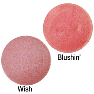 Herbal Baked Blush - Colour Chart