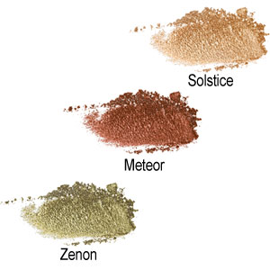 Crushed Metallic Shadow - Colour Chart