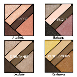 Silk FX Eyeshadow Palette - Colour Chart