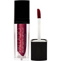 Palladio - Velvet Matte Metallic Lip Colour - Lavish
