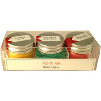 Potions & Possibilities - Top to Toe Relief Balms