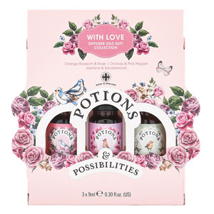 Potions & Possibilities - With Love Diffuser Oils Gift Set