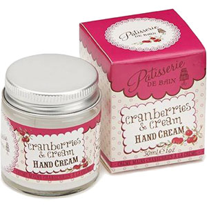 Rose & Co Patisserie De Bain - Cranberries & Cream Hand Cream