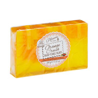 Rose & Co Patisserie De Bain - Soap Cake Slice - Orange Crush
