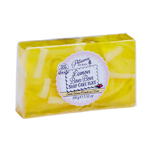 Rose & Co Patisserie De Bain - Soap Cake Slice - Lemon Bon-Bon