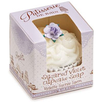 Patisserie De Bain - Sugared Violet Cupcake Soap