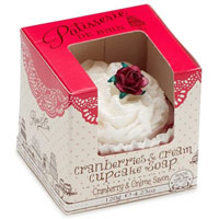 Patisserie De Bain - Cranberries & Cream Cupcake Soap