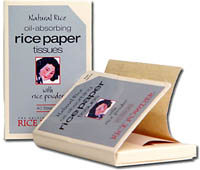 Original Rice Powder Company - Rice Paper Tissues