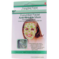 Skin Benefits - Cucumber Facial Anti-Wrinkle Mask