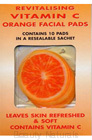 Skin Benefits - Vitanmin C Orange Facial Pads