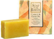 Soap of The Earth - Carrot & Olive Oil
