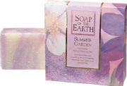 Soap of The Earth - Summer Garden Natural Cleansing Bar