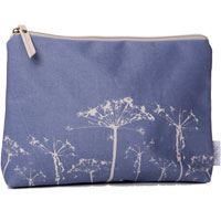 Shruti - Blue Oilcloth Washbag
