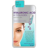 Hyaluronic Acid + Collagen Face Mask Sheet|5.0000|5.0000