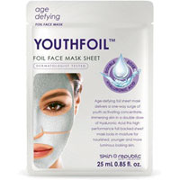 'Youthfoil' Foil Face Mask|9.0000|9.0000