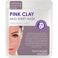 Skin Republic - Pink Clay Mud Sheet Mask