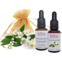 Skin Revivals - Precious Facial & Neck Oil Duo (Vit Boost)