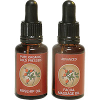 Skin Revivals - Facial Oil Set (Rosehip & Facial Massage)