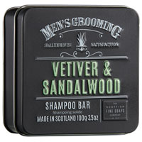 Scottish Fine Soaps - Vetiver & Sandalwood Shampoo Bar